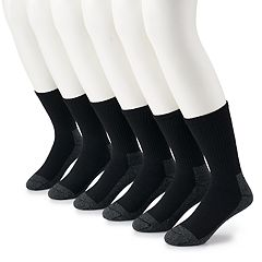 bb4d9b08 Men's Fruit of the Loom 6-pack Cushioned Work Gear Crew Socks