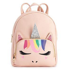0979f221f3 Sale.  30.00. Regular.  50.00. OMG Accessories Glittery Rainbow Unicorn  Mini Backpack