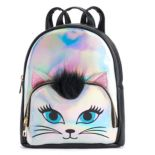 OMG Accessories Hologram Cat Mini Backpack