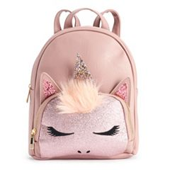 OMG Accessories Glittery Unicorn Mini Backpack