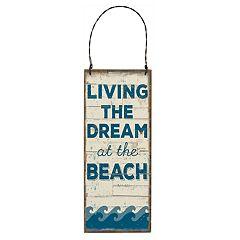 'At The Beach' Coastal Wall Decor