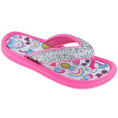 Girls 4-12 Elli by Capelli Summer Fun Thong Flip Flop Sandals