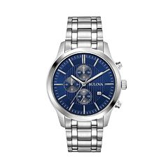 Bulova Men's Stainless Steel Chronograph Watch - 96B306