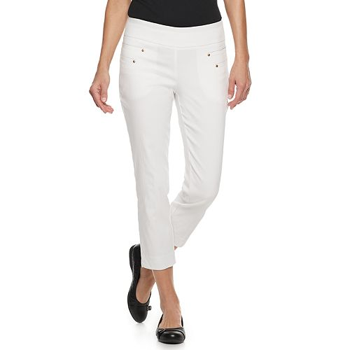 Petites Briggs Pull-On Ankle Pants