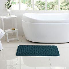 VCNY 2-piece Lattice Bath Mat Set