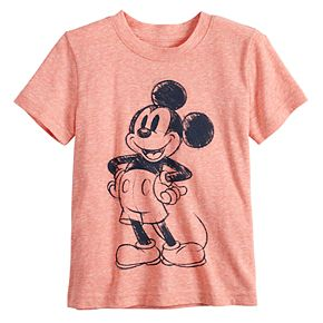 Disney's Mickey Mouse 90th Anniversary Toddler Boy Snow Heathered Graphic Tee by Jumping Beans®