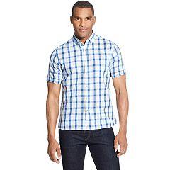 Big & Tall Van Heusen Never Tuck Slim-Fit Button-Down Shirt
