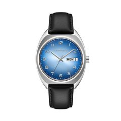 Caravelle Men's Leather Watch - 43C119