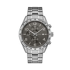 Caravelle Men's Stainless Steel Chronograph Watch - 43B164