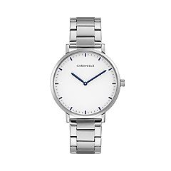 Caravelle Men's Stainless Steel Watch - 43A150