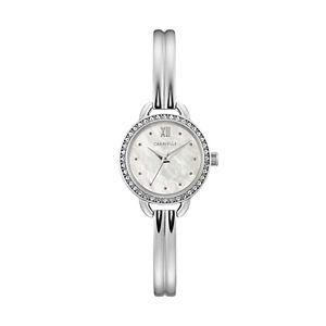 Caravelle by Bulova Women's Crystal Bangle Watch - 43L213