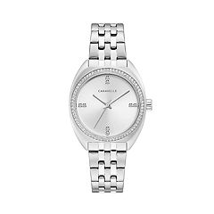 Caravelle Women's Crystal Stainless Steel Watch - 43L214