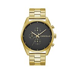 Caravelle Men's Stainless Steel Chronograph Watch - 44A113