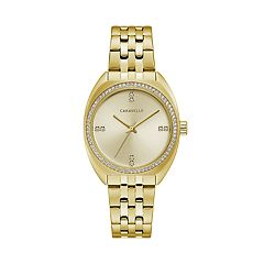 Caravelle Women's Crystal Stainless Steel Watch - 44L250