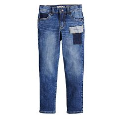 Boys 4-8 SONOMA Goods for Life™ Deconstructed Patchwork Straight Jeans