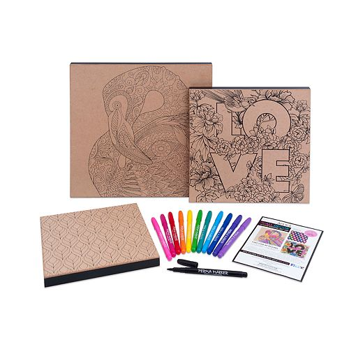 Art 101 Wood Canvas Art Set