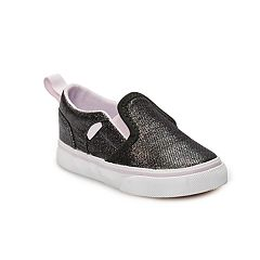 Vans Asher V Toddler Girls' Glitter Skate Shoes