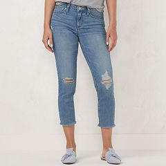 Women's LC Lauren Conrad Feel Good Midrise Capri Jeans
