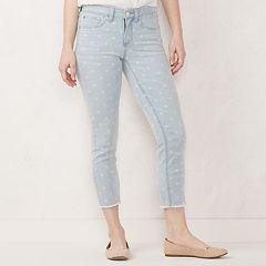 Women's LC Lauren Conrad Feel Good Midrise Capri Jeans