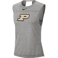 ee40a5cd Women's Nike Purdue Boilermakers Breathe Tank Top