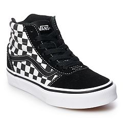 Vans Ward Hi Checkered Boys' Skate Shoes