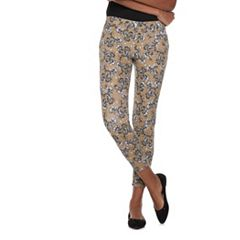 Women's Utopia by HUE Japanese Paisley Printed Jean Leggings