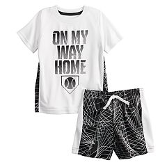 Baby Boy Jumping Beans® Sporty Active Top & Short Set