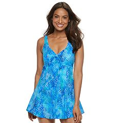340e2080f041e Women s Croft   Barrow® Bow Front One-Piece Swimdress