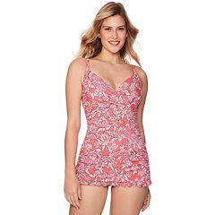 88582dac569e6 Women s Croft   Barrow® Crisscross One-Piece Swimdress