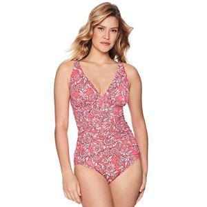 6f2d248d708f5 Women s Croft   Barrow® High-Neck Mesh Inset One-Piece Swimsuit