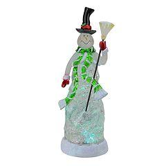 Northlight Seasonal 11' LED Snowman Color Changing Christmas Table Decor