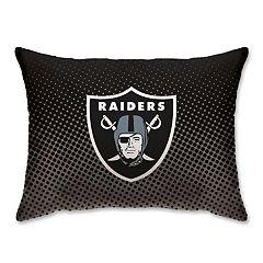 Oakland Raiders 20' x 26' Dot Fade Pillow