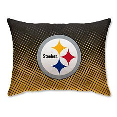 Pittsburgh Steelers 20' x 26' Dot Fade Pillow