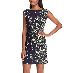 8129cdfaea8 Petite Chaps Floral Sheath Dress
