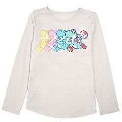 Girls 4-10 Jumping Beans® Super Mario Bros. Yoshi & Toad Graphic Tee