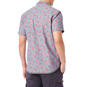 Big & Tall Unionbay Printed Stretch Button-Down Shirt