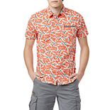 Big & Tall Unionbay Printed Stretch Button-Down Shirt