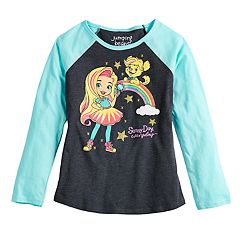 Girls 4-10 Jumping Beans® Sunny Day Rainbow Graphic Tee