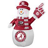 Boelter Alabama Crimson Tide Inflatable Snowman