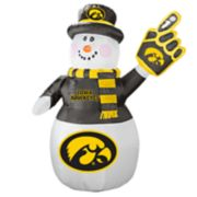 Boelter Iowa Hawkeyes Inflatable Snowman