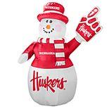 Boelter Nebraska Cornhuskers Inflatable Snowman