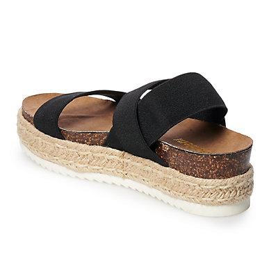 madden NYC Keendal Women's Platform Espadrille Sandals