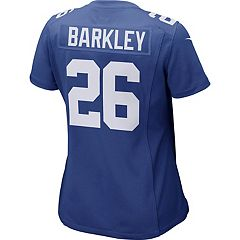 Women's Nike New York Giants Saquon Barkley Team Jersey