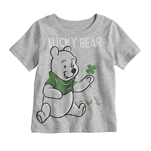 "Disney's Winnie the Pooh Baby Boy ""Lucky Bear"" Graphic Tee by Jumping Beans®"