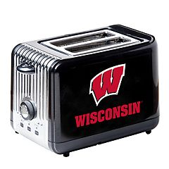 Wisconsin Badgers Two-Slice Toaster