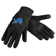 Adult Detroit Lions Neoprene Touchscreen Gloves