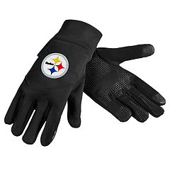 Adult Pittsburgh Steelers Neoprene Touchscreen Gloves