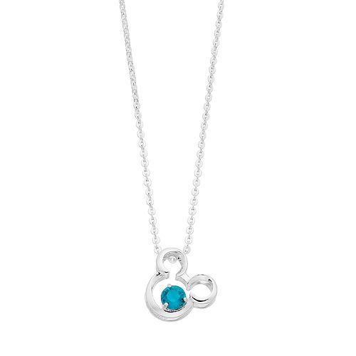 Disney's Mickey Mouse 90th Anniversary Pendant Necklace