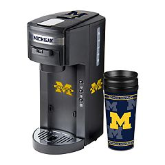Michigan Wolverines Deluxe Coffee Maker