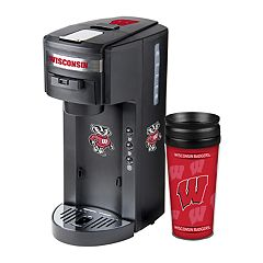 Wisconsin Badgers Deluxe Coffee Maker